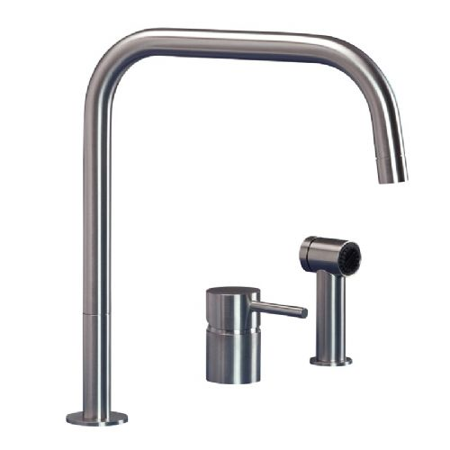 MGS F2 SQ SP Stainless Steel Kitchen Tap